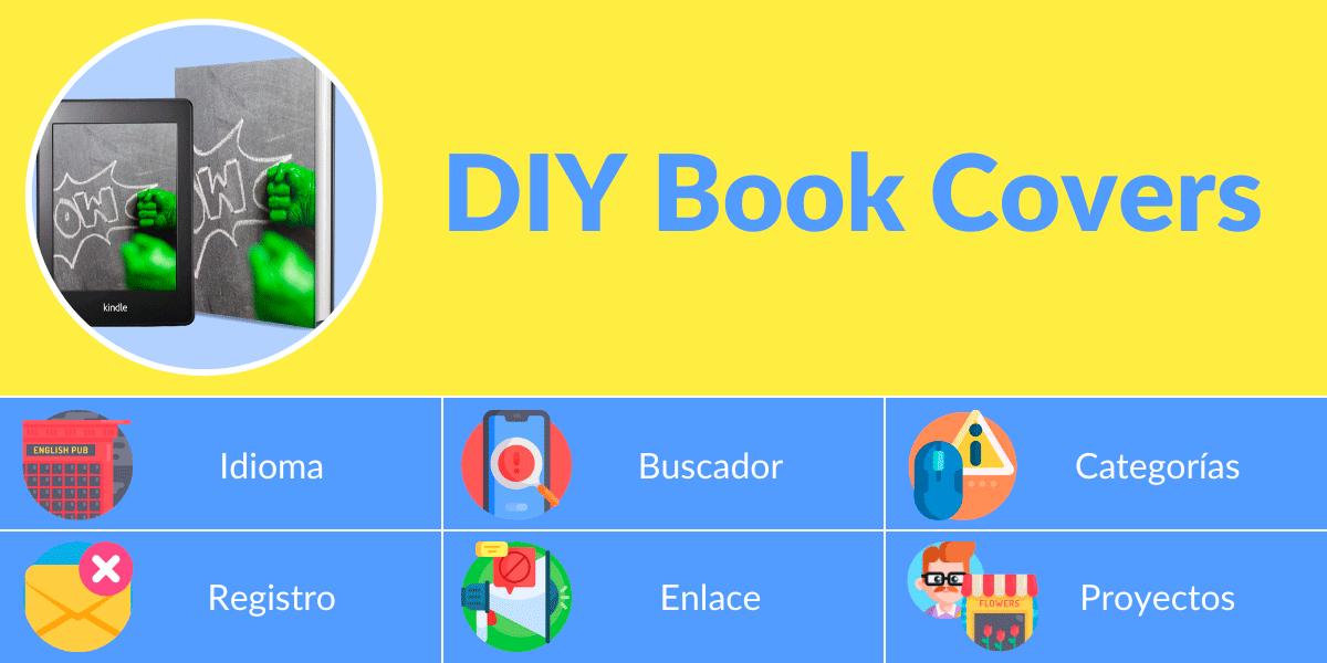 Mockup libros DIY Book Covers