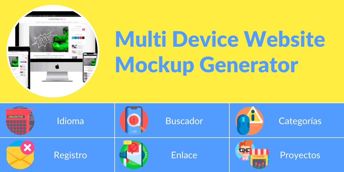 Multi Device Website Mockup Generator